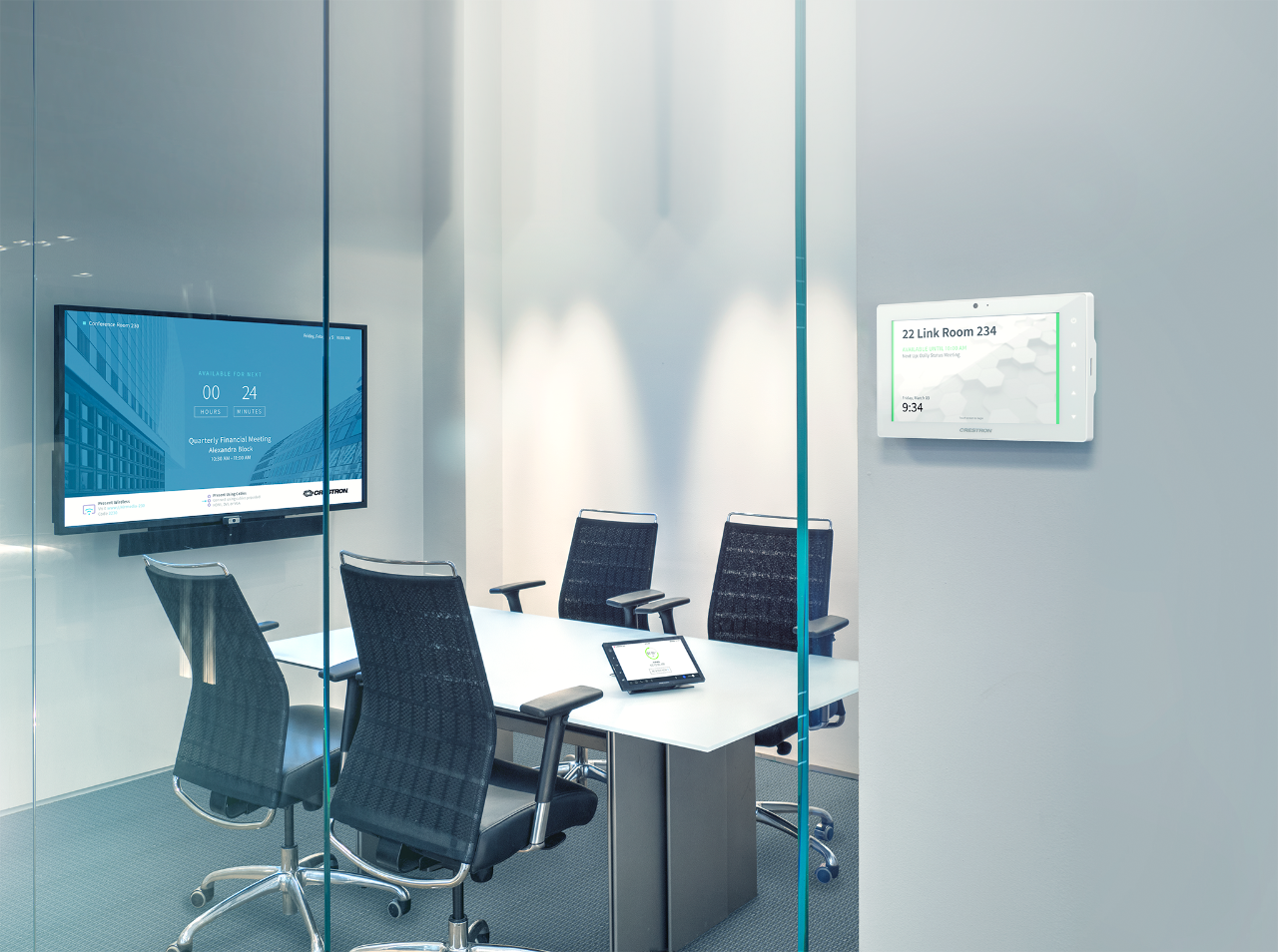 Techinar: Room Scheduling with Crestron